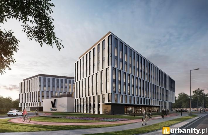 Projekt architektoniczny biurowca V.Offices w Krakowie