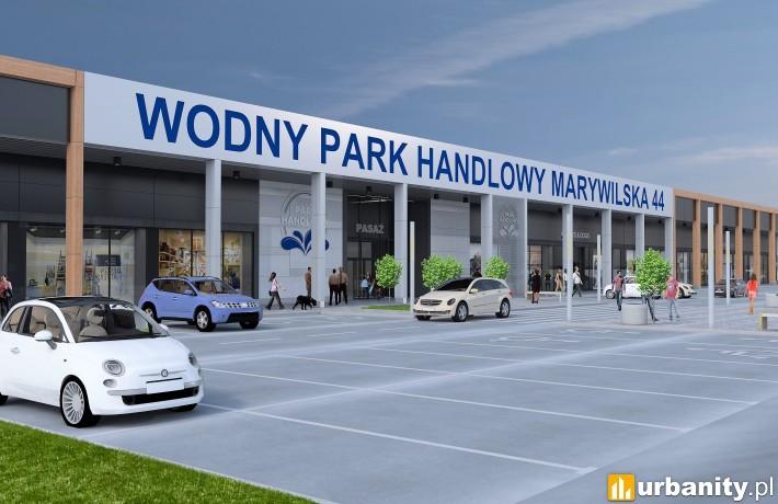 Wodny Park Handlowy Marywilska 44 - wizualizacja