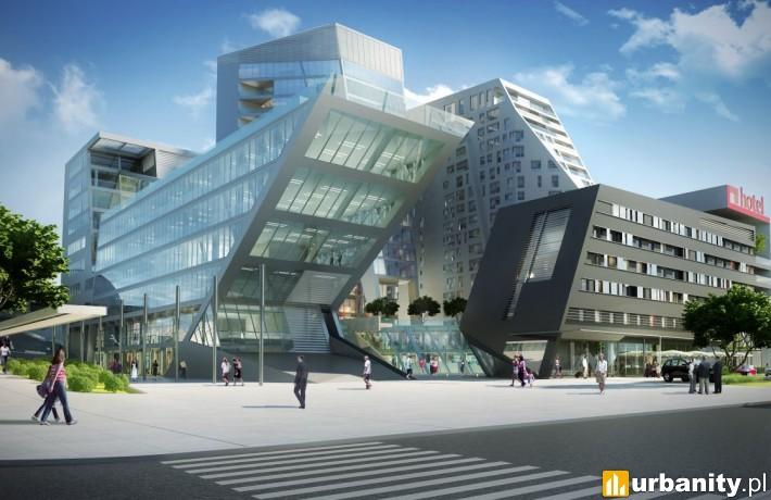 Pierwotny projekt kompleksu Centaurus w Olsztynie