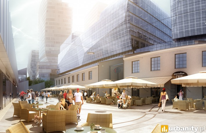 Projekt kompleksu ArtN w Warszawie