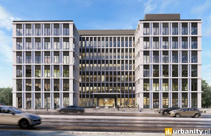 Projekt biurowca K2 w Gdyni