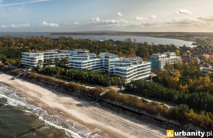 Tak obecnie wygląda kompleks Dune Resort w Mielnie
