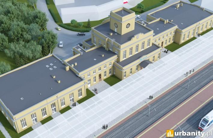 Projekt rewitalizacji dworca w Zbąszyniu