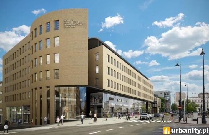 Projekt biurowca Ethos w Warszawie