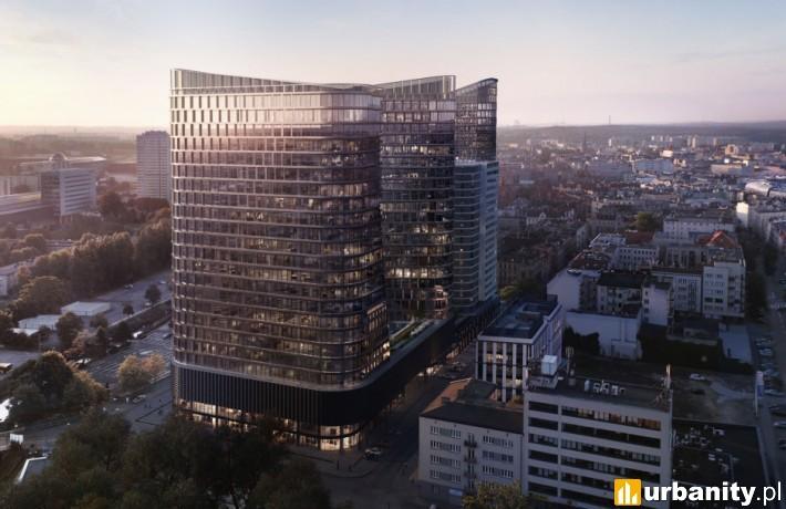 Global Office Park w Katowicach - wizualizacja