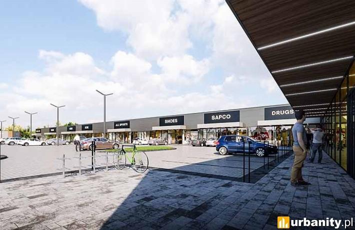 Planowany park handlowy w Grodzisku Wielkopolskim