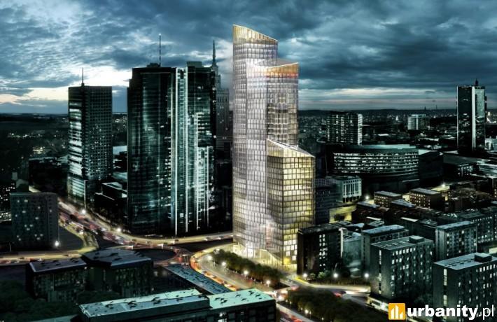 Projekt wieżowca na miejscu Ilmetu