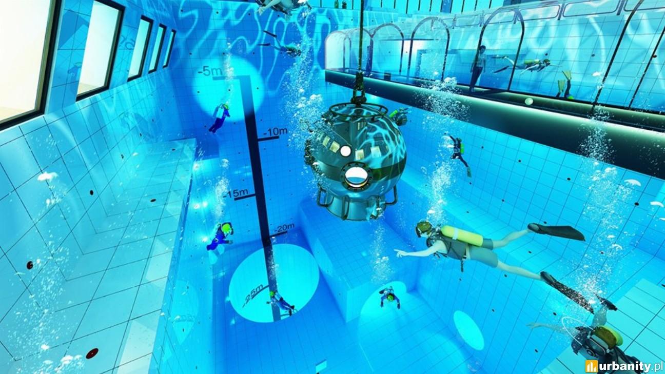 W Polsce powstaje najgłębszy basen nurkowy na świecie - Deepspot