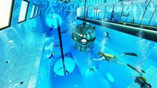 Projekt basenu Deepspot w Mszczonowie