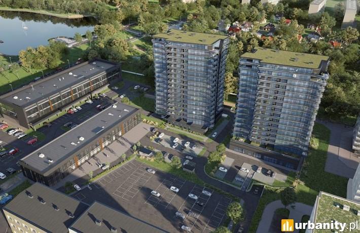 Plaza Tower w Kielcach - wizualizacja