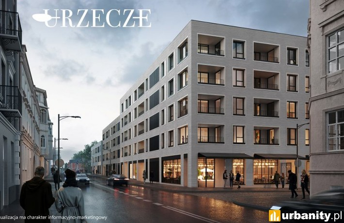 Projekt inwestycji Urzecze w Bydgoszczy