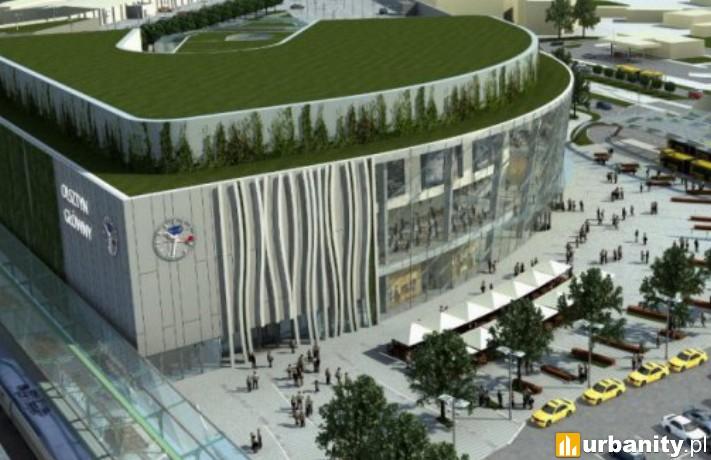 Zintegrowane Centrum Komunikacyjne w Olsztynie - wizualizacja