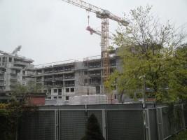zdjęcie z budowy Żoliborz Artystyczny