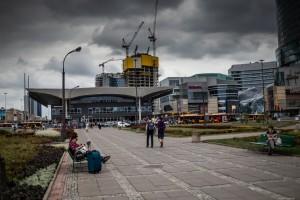 zdjęcie z budowy Varso Tower