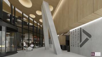 zdjęcie z budowy DL Tower