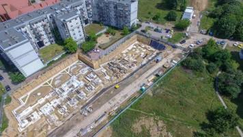 zdjęcie z budowy Nowe Jagiełły 12N