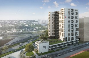 zdjęcie z budowy Modern Tower