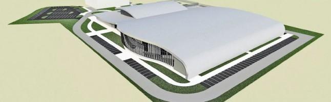 zdjęcie z budowy Podkarpackie Centrum Lekkoatletyczne