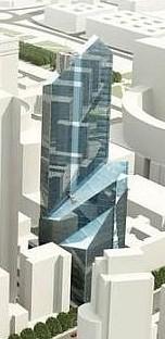 wizualizacje Kaskada - PHN Tower