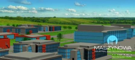 wizualizacje Park Przemysłowo-Techniczny Maszynowa