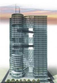 wizualizacje Budynek Biurowo-Hotelowy
