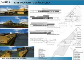 wizualizacje Przystań Jachtowa Gdańsk