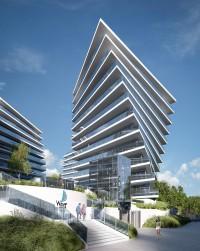 zdjęcie z budowy Wave Apartments