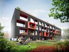 wizualizacje Apartamentowiec Cumulus