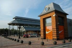 zdjęcie z przebudowy Designer Outlet Sosnowiec