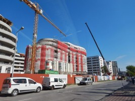 zdjęcie z budowy Apartamenty Kaskada