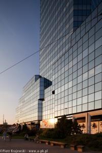zdjęcie Błękitnego Wieżowca