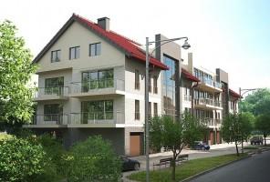 zdjęcie z budowy Osiedle Sosnowe I