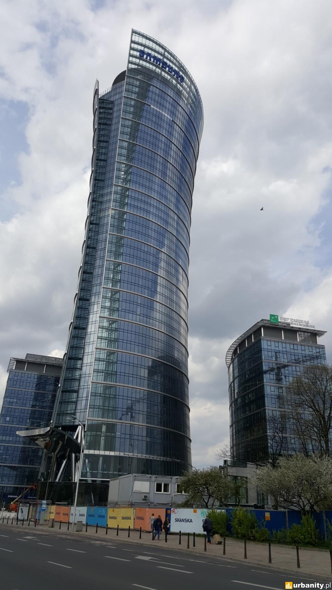 W budowie Warsaw Spire