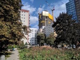 zdjęcie z budowy Varso Place