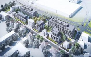 zdjęcie z budowy Biurowiec Preludium