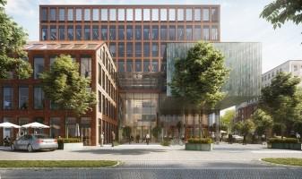 zdjęcie z budowy Biurowiec Gato