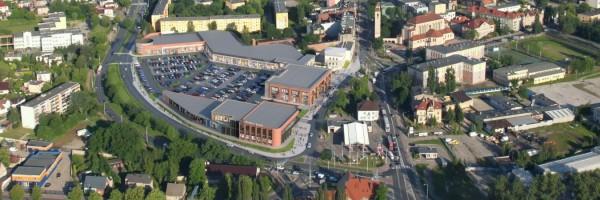 wizualizacje Centrum handlowe Multibox Browar