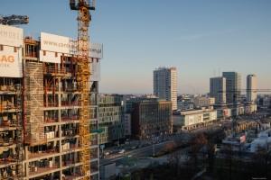 zdjęcie z budowy Central Point