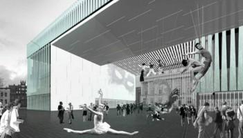 wizualizacje Nowy budynek Opery Wrocławskiej