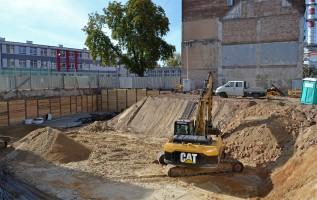 zdjęcie z budowy Dom na Kurkowej