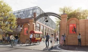 zdjęcie z przebudowy Widzewska Manufaktura