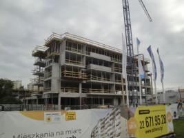 zdjęcie z budowy Osiedle Orlik