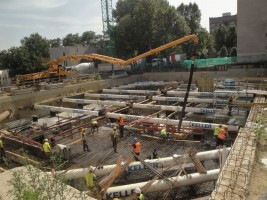 zdjęcie z budowy Widoki Mokotów