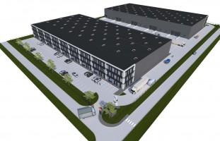 zdjęcie z budowy Ideal Idea Park Wrocław