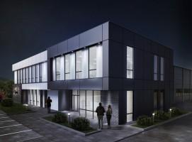 zdjęcie z budowy Centrum badawczo-rozwojowe Cad-Mech