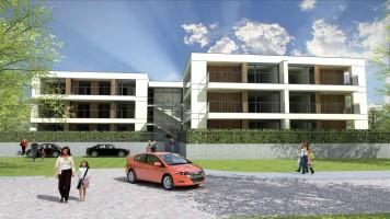 zdjęcie z budowy Apartamenty Lawendowe