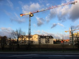 zdjęcie z budowy Kórnicka