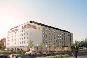 wizualizacje Hotel Kyriad i Première Classe