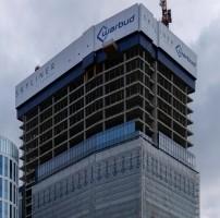 zdjęcie z budowy Kaleidoscope Towers