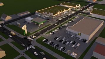 zdjęcie z budowy Park Handlowy Saller